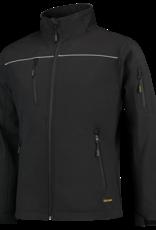 Tricorp online kopen bij JTH Tricorp soft shell luxe jack Kids 402016 Black