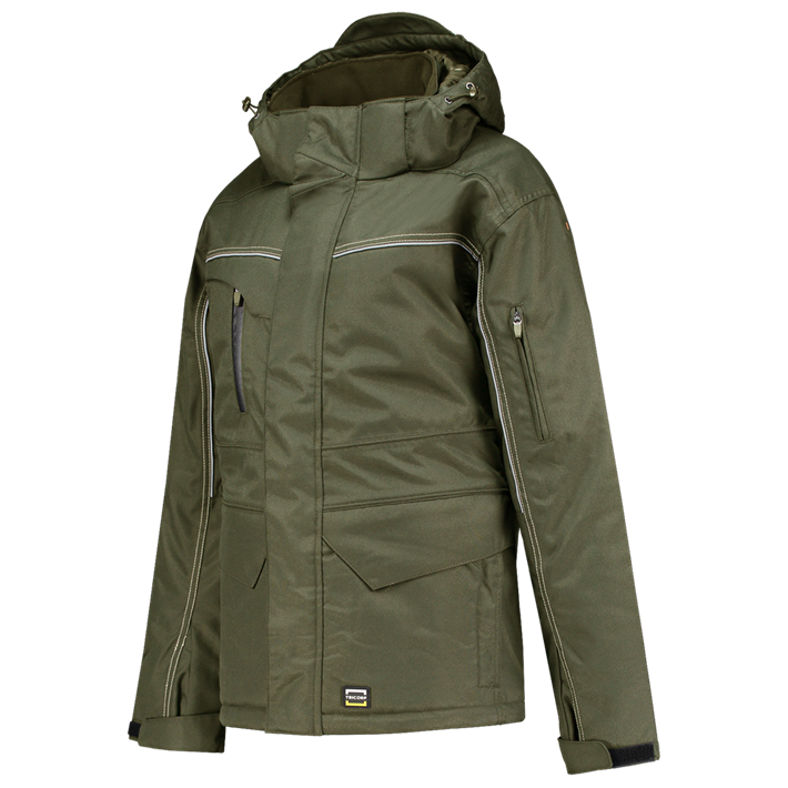 Tricorp online kopen bij JTH Tricorp Midi Parka Canvas 402007 Army