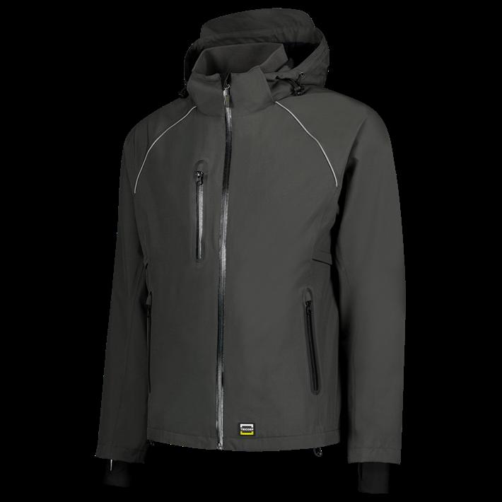 Tricorp online kopen bij JTH Tricorp Techshell werkjas Dark Grey 402018