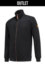 Tricorp online kopen bij JTH Sweater vest  ritskraag premium Black 304002