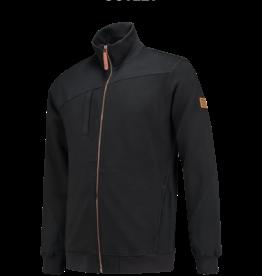 Tricorp online kopen bij JTH Sweater vest ritskraag premium Black