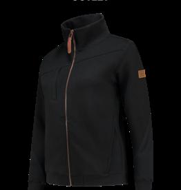Tricorp online kopen bij JTH Sweater vest  ritskraag premium dames black 304008