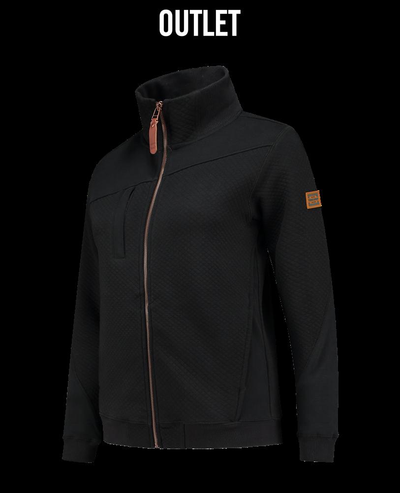 Tricorp online kopen bij JTH Sweater vest  ritskraag premium dames black