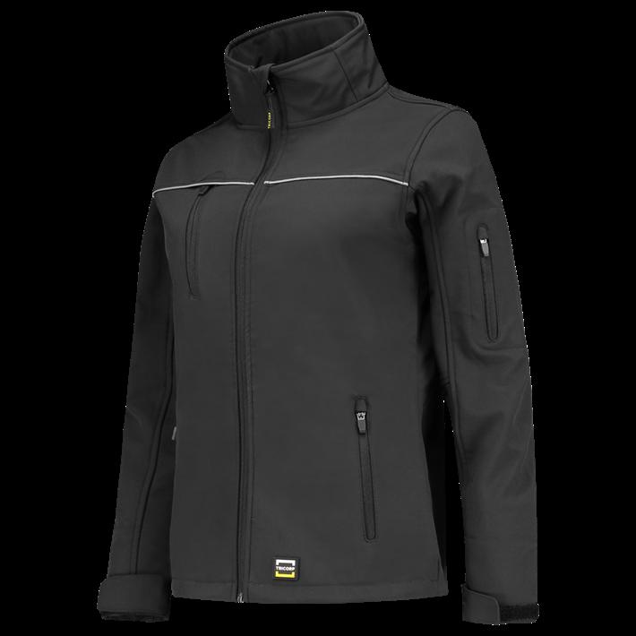 Tricorp online kopen bij JTH Softshell jack dames dark grey 402009