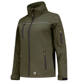 Tricorp online kopen bij JTH Tricorp soft shell jack dames 402009  Army