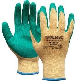 M-safe online kopen bij JTH Handschoen Oxxa M-grip  voorheen M-Safe groen