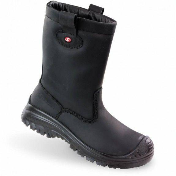 Sixton werklaarzen online kopen bij JTH Sixton Montana 17 outdry zwart met echte lamswol voering nu wintersale
