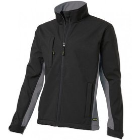 Tricorp online kopen bij JTH Tricorp soft shell jack TJ2000-402002  bicolor black-grey