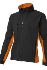Tricorp online kopen bij JTH Tricorp soft shell jack TJ2000-40202  bicolor black-orange