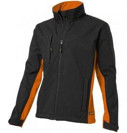 Tricorp online kopen bij JTH Tricorp soft shell jack TJ2000-402002  bicolor black-orange