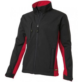 Tricorp online kopen bij JTH Tricorp soft shell jack TJ2000-402002  bicolor black-red
