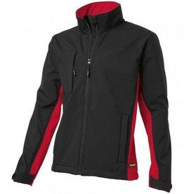 Tricorp online kopen bij JTH Tricorp soft shell jack TJ2000-402002  bicolor black-red