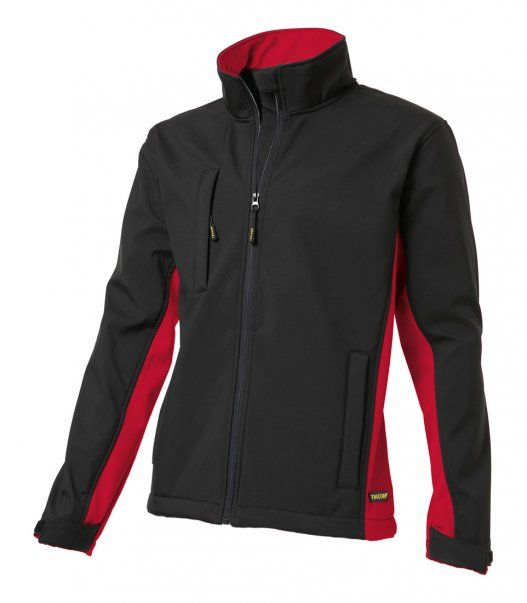 Tricorp online kopen bij JTH Tricorp soft shell jack TJ2000-40202  bicolor black-red