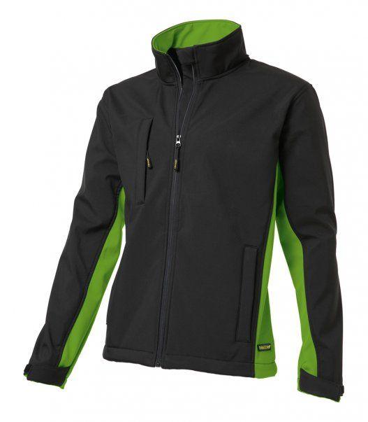 Tricorp online kopen bij JTH Tricorp soft shell jack TJ2000-402002 bicolor black-lime