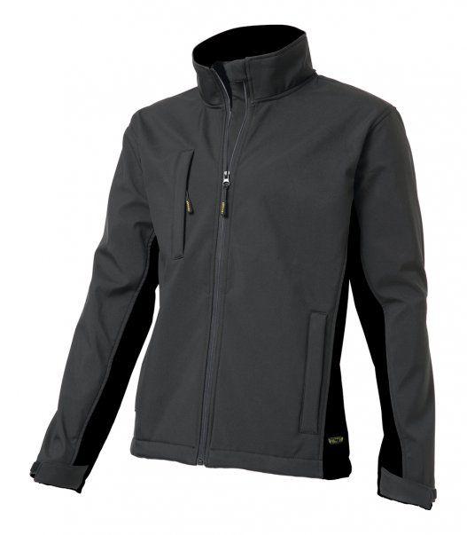 Tricorp online kopen bij JTH Tricorp soft shell jack TJ2000-402002  bicolor darkgrey-black