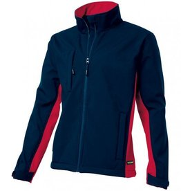Tricorp online kopen bij JTH Tricorp soft shell jack TJ2000-402002  bicolor navy-red