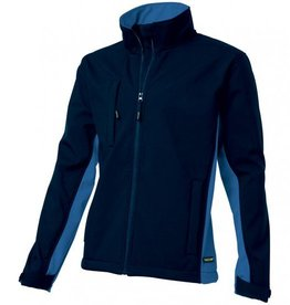 Tricorp online kopen bij JTH Tricorp soft shell jack TJ2000-402002  bicolor navy - royalblue