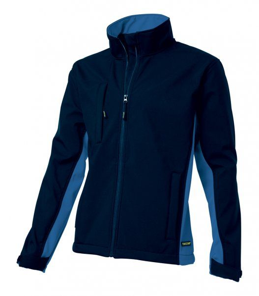 Tricorp online kopen bij JTH Tricorp soft shell jack TJ2000-402002  bicolor navy-royalblue