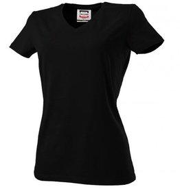 Tricorp online kopen bij JTH Tricorp dames T-shirt V- hals Slimfit TVT-190-101008 black