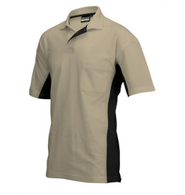 Tricorp online kopen bij JTH Tricorp poloshirt Bi-Color TP-2000-202002 Khaki-Black