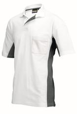 Tricorp online kopen bij JTH Tricorp poloshirt BI-Color TP-2000-20202 White-Darkgrey