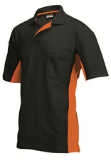 Tricorp online kopen bij JTH Tricorp poloshirt BI-Color TP-2000-202002 Black-Orange