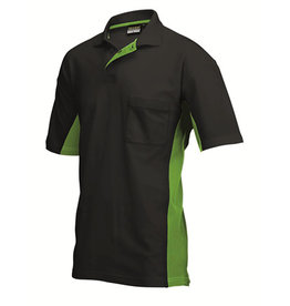 Tricorp online kopen bij JTH Tricorp poloshirt Bi-Color TP-2000-202002 Black-Lime