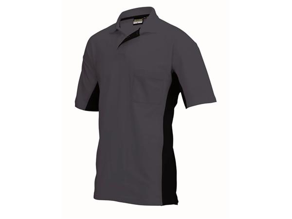 Tricorp online kopen bij JTH Tricorp poloshirt BI-Color TP-2000-202002 Darkgrey-Black