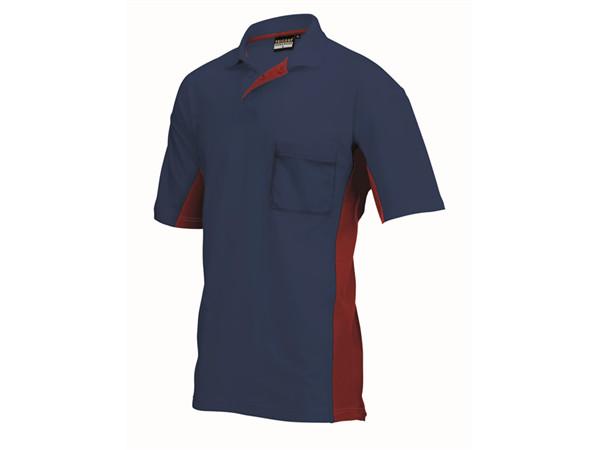 Tricorp online kopen bij JTH Tricorp poloshirt BI-Color TP-2000-202002 Navy-Red