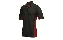 Tricorp online kopen bij JTH Tricorp poloshirt BI-Color TP-2000-202002 Black-Red