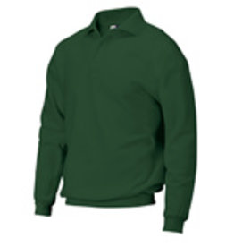 Tricorp online kopen bij JTH Tricorp Polosweater boord PSB-280-301005 Bottelgreen