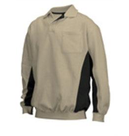 Tricorp online kopen bij JTH Polosweater Bi-Color TS-2000-302001 Khaki-Black