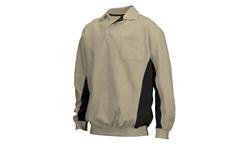 Tricorp online kopen bij JTH Polosweater Bi-Color TS-2000-302001 Khaki-Black   Let op nog beperkt leverbaar