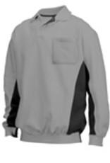 Tricorp online kopen bij JTH Polosweater Bi-Color TS-2000-302001 Grey-Black