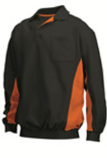 Tricorp online kopen bij JTH Polosweater Bi-Color TS-2000-302001 Black-Orange