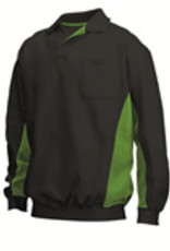 Tricorp online kopen bij JTH Polosweater Bi-Color TS-2000-302001 Black-Lime