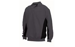 Tricorp online kopen bij JTH Polosweater Bi-Color TS-2000-302001 Darkgrey-Black