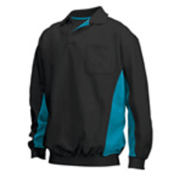 Tricorp online kopen bij JTH Polosweater Bi-Color TS-2000-302001 Black-Turquoise