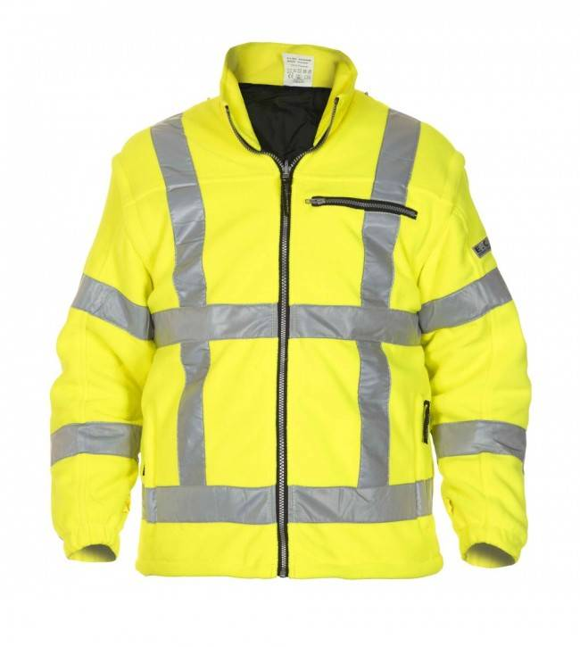 Hydrowear online kopen bij JTH Hydrowear Fleece vest Franeker geel RWS