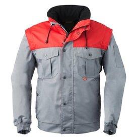 HaVep online kopen bij JTH Havep All season jack 5065 Grijs-Rood