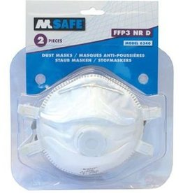 M-safe online kopen bij JTH M-safe Stofmasker 6340 FFP3