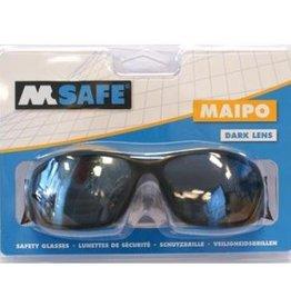M-safe online kopen bij JTH M-Safe Veiligheidsbril donker