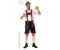 Oktoberfestkleding: Lederlook lederhose