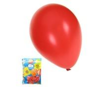 50 grote metallic rode feestballonnen