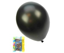 Grote zwart metallic ballon