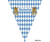 Oktoberfest vlaggenlijn