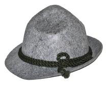Alpenhoedje grijs voor heren