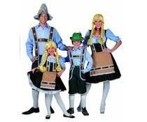Beierse dirndl jurk voor meisjes