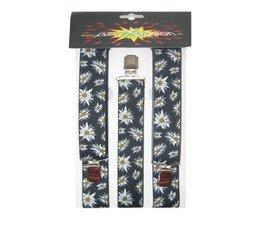 Edelweis bretels voor bij u tirolerbroek