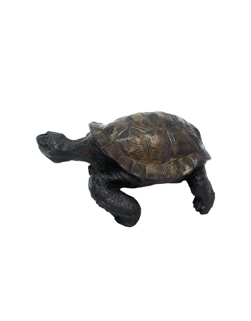 Ägidius – Bronzefigur einer Schildkröte